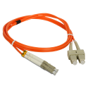 Patch cord MM OM2 LC-SC duplex 50/125 1.0m ALANTEC