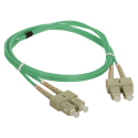 Patch cord MM OM3 SC-SC duplex 50/125 2.0m ALANTEC