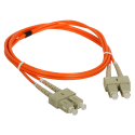 Patch cord MM OM2 SC-SC duplex 50/125 5.0m ALANTEC